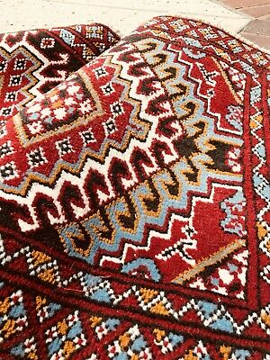 """C 1950 Khorassan Balouch Antique Persian Exquisite Hand Made Rug 2/' 2/"""" x 4/' 6/"""""""