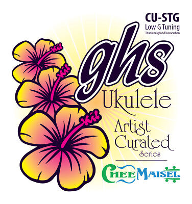 NEW GHS Ukulele Strings Tenor Low G Series Sarah Maisel Full Set CU-STG