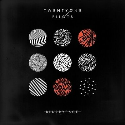 Twenty One Pilots Blurryface black vinyl 2 LP + download gatefold sleeve NEW/SEA