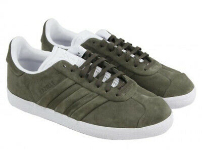 UK SIZE 10.5 - adidas ORIGINALS GAZELLE STITCH AND TURN TRAINERS - cq2359