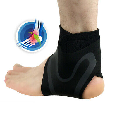 Elastic Ankle Foot Support Brace Sleeve Guard Football Basketball Protector Film