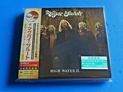 2019 JAPAN CD w/POSTER THE MAGPIE SALUTE HIGH WATER II DIGIPAK 2 BONUS TRACKS