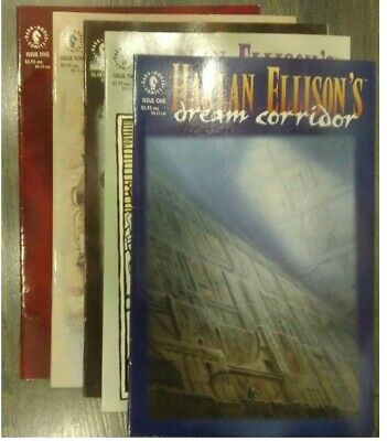 Harlan Ellison's Dream Corridor Dark Horse Complete Series Issues 1-5