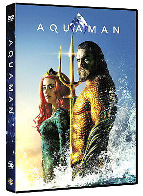 ACQUAMAN (DVD) DC COMICS con JASON MOMOA