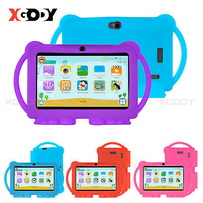 """XGODY 7"""" INCH Android 8.1 Tablet PC Bluetooth Quad-core 16G WIFI HD for Kids New"""