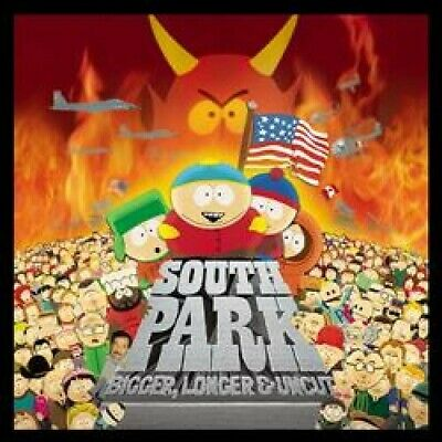 South Park Bigger, Longer & Uncut RSD 2019 box set lenticular sleeve NEW/SEALED