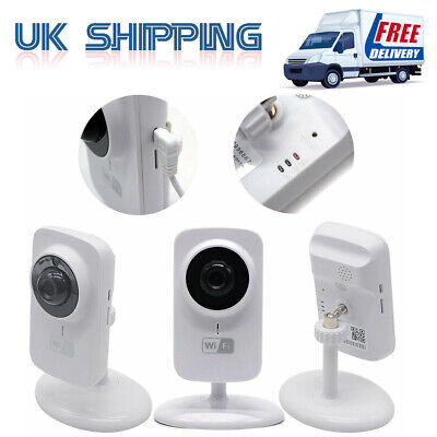 Wireless WiFi HD 720P IP Camera CCTV Night Vision Home Indoor Security System UK