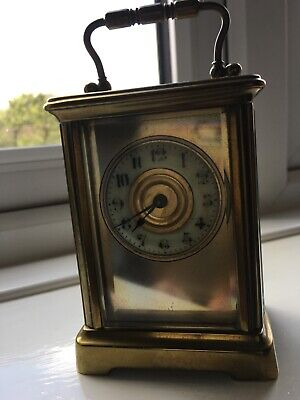 French antique carriage clock