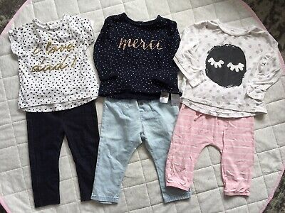 Girls Size 0 Clothing Bundle Pants Tops Country Road Zara Ted Baker Chi Khi