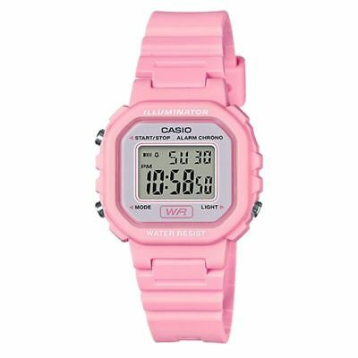 Casio LA20WH-4A1,  Women's Digital Pink Resin Watch, Chronograph, Alarm