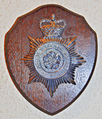 North Yorkshire Police wall plaque shield Constabulary
