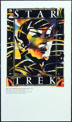 Star Trek The Motion Picture 1979 German Film Movie Poster Page . F119