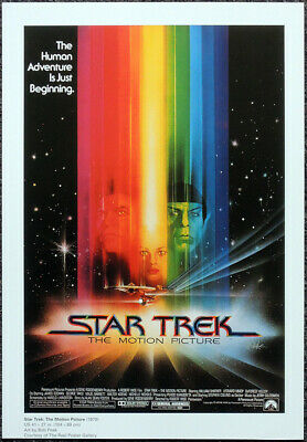 Star Trek The Motion Picture 1979 Film Movie Poster Page . F120