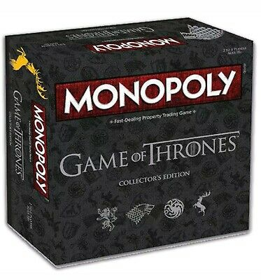 Game Of Thrones Monopoly Collector's Edition   Genuine