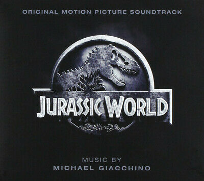 JURASSIC WORLD  Michael Giacchino Pre-Owned soundtrack CD Card non Jewel Case