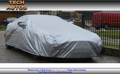Lightweight Car Cover Water Resistant Mystere Jaguar XF Saloon