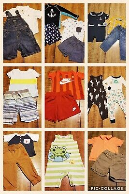 e23b2bb22575 Lot of 26 PC 12-18 M Baby Boy Clothes Outfits Spring Summer Gymboree Cat