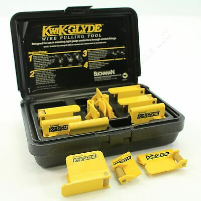 "Buchanan 1/2"" KWIK-GLYDE Wire Pulling Tool Kit Used for #8 AWG or Smaller KT050"