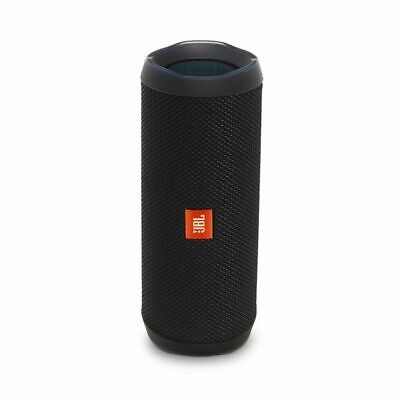 JBL Flip 4 Waterproof Bluetooth Speaker (Black). Authorized Dealer!