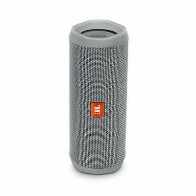 JBL Flip 4 Waterproof Bluetooth Speaker (Grey). Authorized Dealer!
