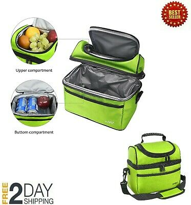 6d4f24f20e2d EXTRA LARGE LUNCH Bag for Men & Women, Insulated Adult Reusable Meal ...