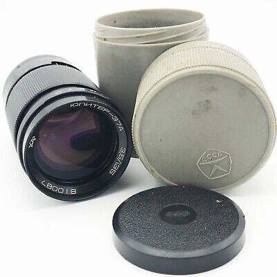 Vintage JUPITER 37A 135mm f/3,5 M42 mount Russian Lens Telephoto Portrait Retro