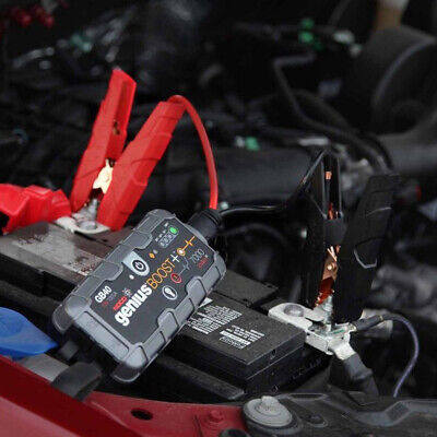 NOCO Genius Boost Plus 1,000A Jump Starter Cars,Boats,Motorcycles,ATVs, Trucks,