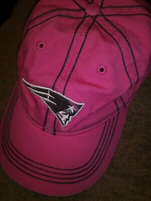 be4c886cda7 NEW ENGLAND PATRIOTS NFL Reebok Pink Slouch Adjustable Relaxed Hat ...
