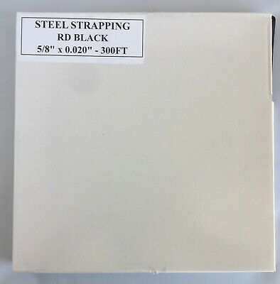 "5/8"" x .020 x 300' Steel Strapping Portable Mini Coils"