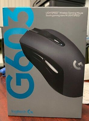 81279eeb47e Brand new sealed Genuine Logitech G603 12000 DPI Wireless Optical Gaming  Mouse