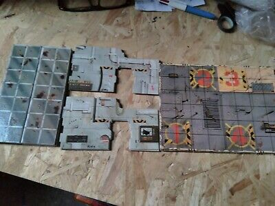 space crusade Mission Dreadnought board pieces spare parts