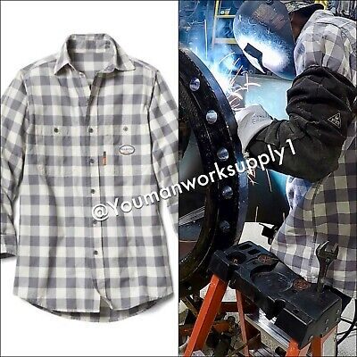 FR CLOTHING SHIRTS Flame Resistant 88/12 Blend Industrial
