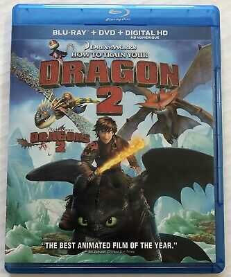 How To Train Your Dragon 2 (Bluray, Dvd, 2014) Canadian
