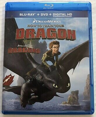 How to Train Your Dragon (Bluray, Dvd, 2011) Canadian