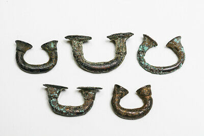 Pre-Colombian Sinu Nose Rings (Set of Five)