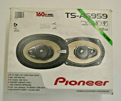 Pioneer TS-A6959 Speaker 3-way 6x9 160 watt