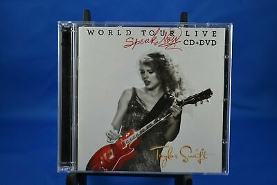 Taylor Swift - Speak Now World Tour Live CD & DVD (2-Disc) CANADIAN EDITION
