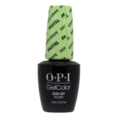 OPI GelColor Soak-Off Gel Lacquer Nail Polish, Gargantuan Green Grape
