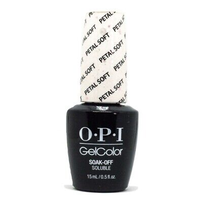OPI GelColor Soak-Off Gel Lacquer Nail Polish, Petal Soft