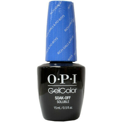 OPI GelColor Soak-Off Gel Lacquer Nail Polish, Rich Girls & Po-boys