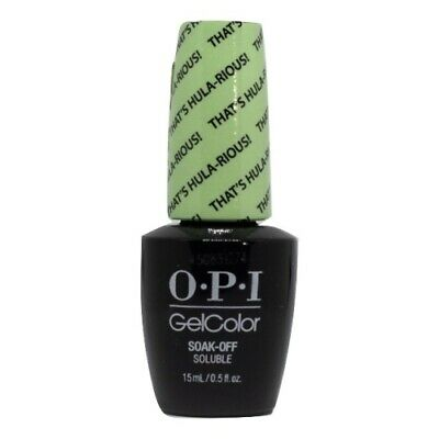 OPI GelColor Soak-Off Gel Lacquer Nail Polish, That's Hula-rious!