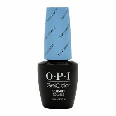 OPI GelColor Soak-Off Gel Lacquer Nail Polish, The I's Have It