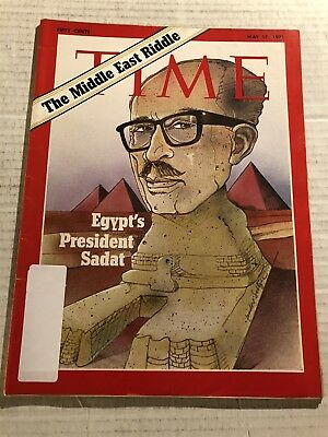 1971 TIME Magazine EGYPTIAN President ANWAR SADAT The MIDDLE EAST Riddle EGYPT