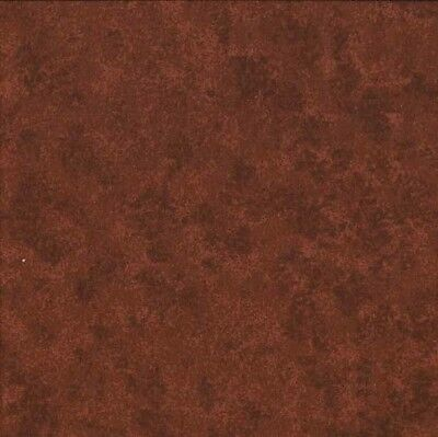 Coupon Tissu Patchwork Makower Spraytime,Faux-uni marron Cacao 45X 55 cm V57