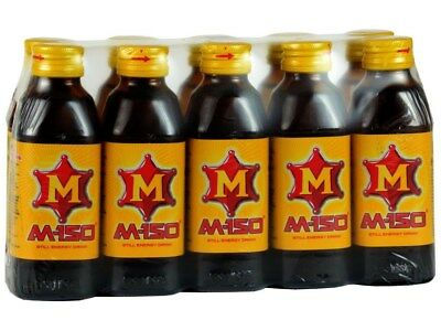 M-150 Thai Energy Drink, Like Red Bull but sweeter and stronger (Osotspa) 20pk