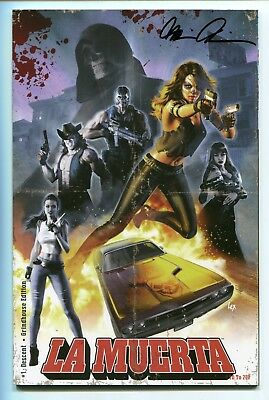 La Muerta Last Rites #1 Grindhouse Edition Coffin Comics CB10392