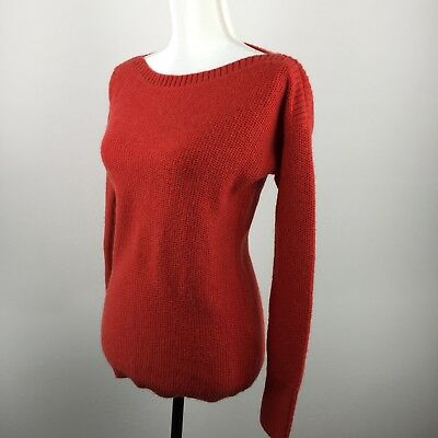 BANANA REPUBLIC Women's Long-Sleeve Sweater Pull over Size/S Color/Red