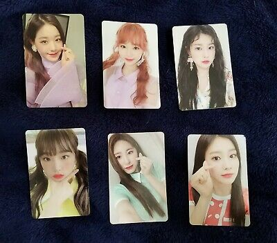 IZ*ONE HEART*IZ (2nd Mini Album) IZONE HEARTIZ [Violeta ver.] CAN PICK PHOTOCARD