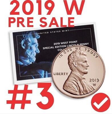 2019 W Uncirulated Premiuim Penny Coin # 3 Presale Sealed. # 3 LIMITED !!!!