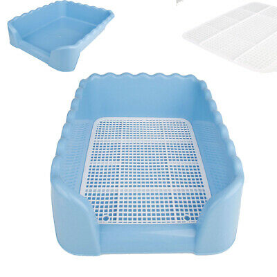 Portable  Dog Pet Training Toilet Scalloped Fenced Dog Pet Potty Size L Loo Tray